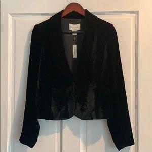 Black velvet blazer NWT White House Black Market